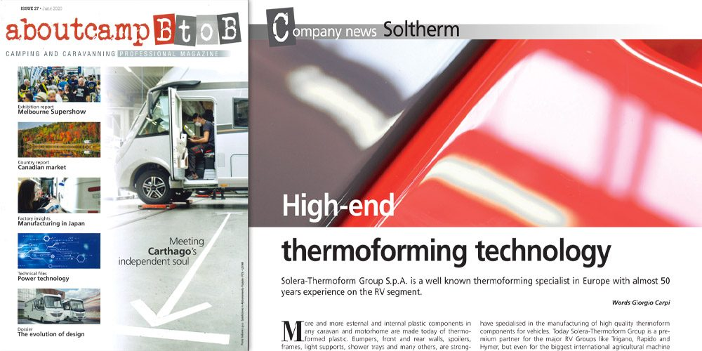 High-end thermoforming technology